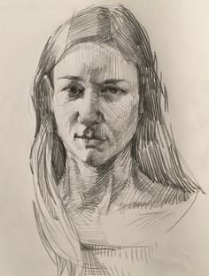 Self-portrait by Sarah Sedwick. Self-portrait by Sarah Sedwick. Human Figure Sketches, Figure Sketching, Figure Drawing, Life Drawing, Drawing Sketches, Cool Drawings, Pencil Drawings, Portrait Sketches, Pencil Portrait
