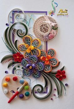 22 Astonishing Quilling Artworks | PicturesCrafts.com