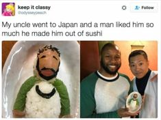 Now we know what sushis actually look like