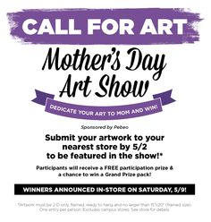 Great contest to enter at your local Blick store! Win Big! Perfect opportunity to use those fabulous Gelli prints! Mother's Day Art Show