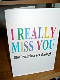 So making this card for B... the one perk to being in a Long Distance Relationship!! LOL!!