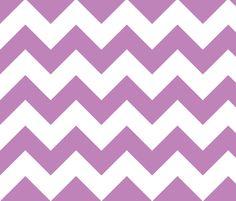 chevron lilac fabric by christiem on Spoonflower - custom fabric