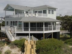 Folly Beach house rental - Gorgeous, New Construction - 4 of 5 Bedrooms Feature Ocean Views!