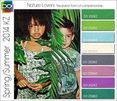 Spring 2014 Mod Fashion Trends for children | Spring Summer 2014 Color Trends for Kids by Design Options | Nidhi ...