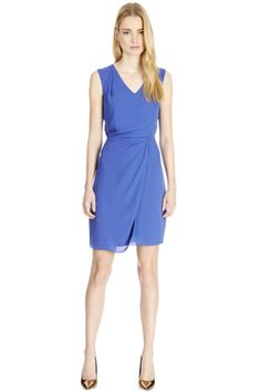 Check out this Tuck Waist Dress from Warehouse.