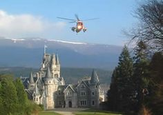 Ardverikie House as seen in the BBC's Monarch of the Glen's Glenbogle-We loved this series!