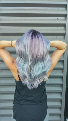 Opal unicorn hair