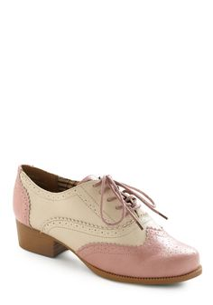 "Bubble Gum Glamour Shoe on Mod Cloth $37.99 They're cute but they're obviously ""cheap"" shoes."