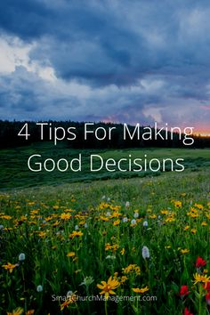 There are many approaches to decision making and successful organizations have systems in place to ensure consistency in how decisions are made. A structured process makes it easier | Smart Church Management