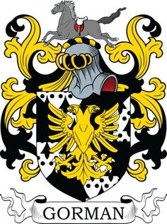 View the world's largest online library of coat of arms meanings and artwork. Family crest and coat of arms information for the surname Gorman.