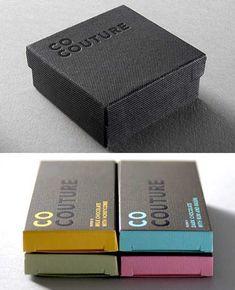 Realmente poucas coisas superam a beleza do design e o sabor de um bom chocolate. Delicie-se com estas embalagens de chocolate.  Atenção: as...