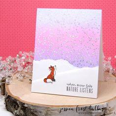 Jessica Frost Ballas | when snow falls | Hero Arts October My Monthly Hero Blog Hop (+GIVEAWAY)