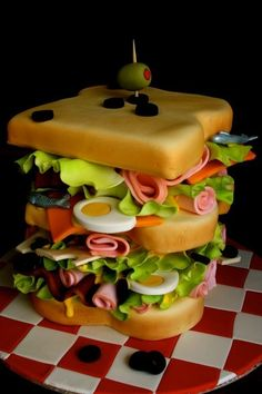 Sandwich Cake |Mz. Manerz: Being well dressed is a beautiful form of confidence, happiness  politeness