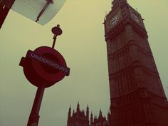 London, underground and Big Ben