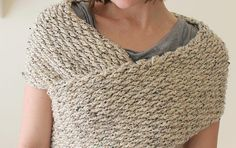 [Free Pattern] So Cute, So Simple, So Cozy: This #CrochetWrap Sweater Is Amazing! - Knit And Crochet Daily #freepattern #crochet #dailycrochet #freecrochetpatterns