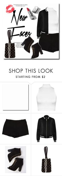 """""""💋"""" by rocio-martinez-1 ❤ liked on Polyvore featuring Topshop, WearAll, L'Agence, River Island, Alexander Wang and Burberry"""