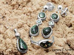 Isle Royale Greenstone jewelry. #jewelry #sterling