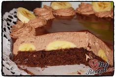Krémový čoko dort s mascarpone Food Hacks, Sweet Recipes, Sweet Tooth, Cheesecake, Cooking Recipes, Sweets, Mascarpone, Top Recipes, Mudpie