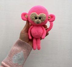 Monkey Amigurumi - Free English Pattern
