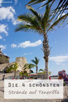 Die vier schönsten Strände auf Teneriffa #reisen #blog