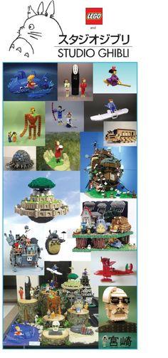 Oh Girls, I Just Wanna Have FUN!!! (MIYAZAKI WORLD. LEGO WORD.)