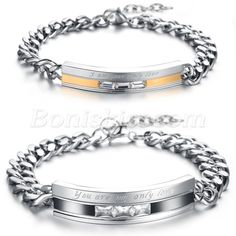 """mens womens stainless steel silver bracelet 8.26/"""" 4mm Bamboo style charm jewelry"""