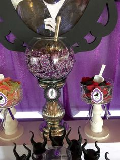 MALEFICENT MOVIE Birthday Party Ideas | Photo 10 of 24 | Catch My Party