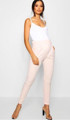 OMG I love these super cute maternity pants! Maternity Cally Pleat Front Trouser. Click this pin to find them at boohoo.com! maternity fashion   maternity clothes   maternity pants   maternity bottoms   maternity wardrobe   maternity style   maternity   pregnancy   bump   #affiliate #pregnancyclothes