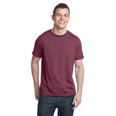 Tri-Blend Crew Neck Tee DT142 – District Clothing Online Store