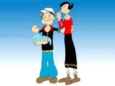 Popeye became the first cartoon character to have a statue in his honour when a Popeye statue was put up in Crystal City, Texas, in 1937. More cartoon facts at URL: http://cartooncharacters.org/ FB fan page: https://www.facebook.com/cartooncharacter
