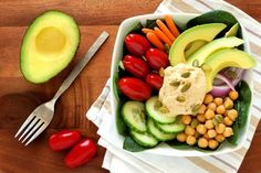 Hungry for a satisfyingly smooth dip? Look no further than our scrumptious avocado hummus bowl.