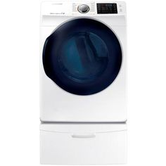 Samsung 7.5 cu. ft. Gas Dryer with Steam in White, ENERGY STAR
