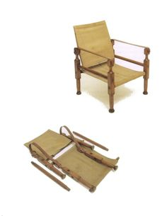Roorkhe chair - named after The headquarters of the Indian army corps of engineers in India