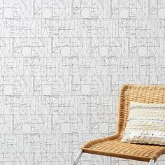 Mid-Century Wallpaper Panels #westelm