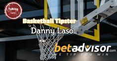 Danny Laso: BetAdvisor Basketball Tipster - http://www.talkingtipsters.com/danny-laso-betadvisor-basketball-tipster/