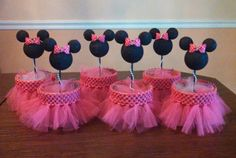 Hey, I found this really awesome Etsy listing at… Minnie Mouse Clubhouse, Minnie Mouse Theme Party, Minnie Mouse Baby Shower, Minnie Mouse Pink, Minnie Birthday, Mickey Party, Mouse Parties, Toddler Birthday Themes, 1st Birthday Girls