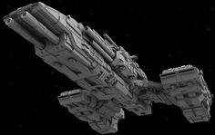 WiP8: BattleCruiser by AceDarkfire on deviantART