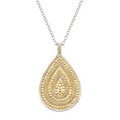 Anna Beck Teardrop Pendant Necklace
