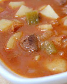 Cast Sugar: Austrian Goulash Soup