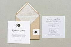 All that glitters | Seven Swans Wedding Stationery