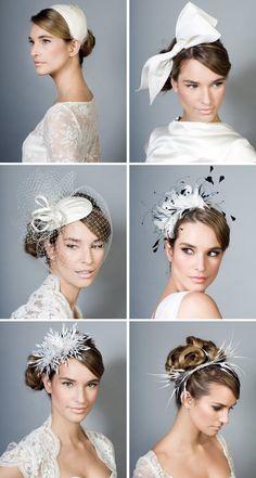 Coiffure mariage : The Very Vert Very Strict School of Millinery - Flashmode Tendance Bridal Fascinator, Bridal Hat, Fascinator Hats, Headpiece Wedding, Bridal Headpieces, Fascinators, Hat Hairstyles, Wedding Hairstyles, School Hairstyles