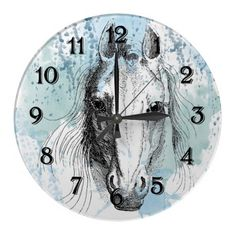 Horse Wallclocks