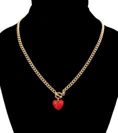 Heart Toggle Necklace for Love