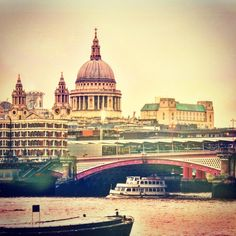 St. Paul's Cathedral. #London #Travel #Tourism #Cathedral #UK #Britain