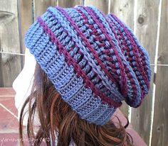 crochet pattern - harper slouchy hat