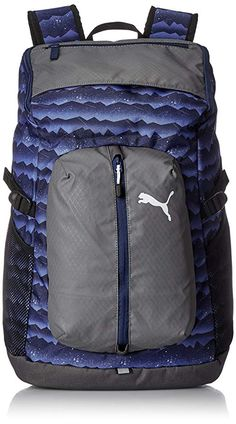 84387e6fabdb Puma 30 Ltrs Blue Depths Mountain Graphic Laptop Backpack (7440210)