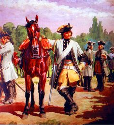 French Colonel-General regiment of cavalry Luis Xiv, Frederick The Great, Colonel, Seven Years' War, 18th Century Clothing, French Empire, French Army, Mountain Man, War Machine