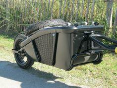 The scooter cargo trailer I designed and built for my 2013 Honda Metropolitan tburick495@aol.com