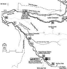 Olympic National Park Kalaloch Campground Map Seattle