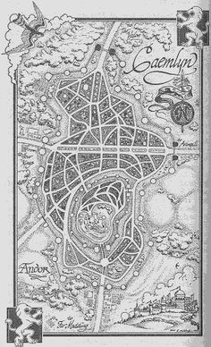 A map of the lands between the mountains of dhoom the aryth ocean the wheel of time map caemlyn gumiabroncs Choice Image